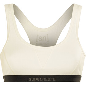 super.natural Semplice 260 Sports Bra Damen fresh white